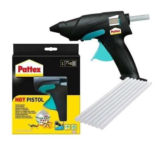 pattex hot sticks pistolet termiczny i kleje termotopliwe 1 kpl. Black Bedroom Furniture Sets. Home Design Ideas